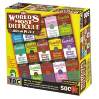 Campbell's Souper Hard Jigsaw Puzzle