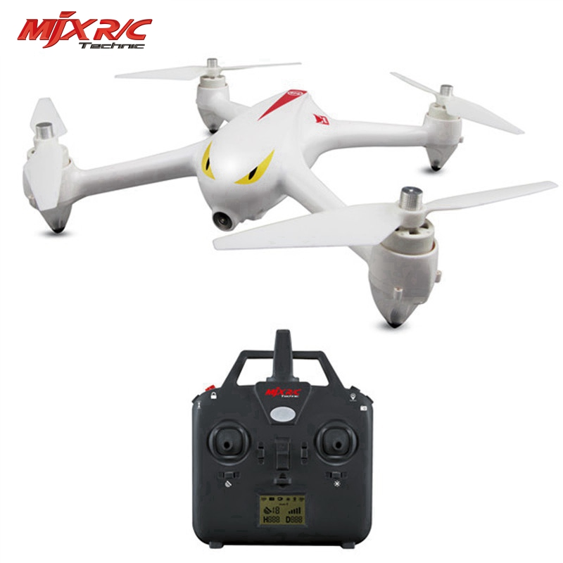 MJX Bugs 2C 1080P Camera 2.4G 4CH 6-Axis Gyro Brushless RC Quadcopter Drone by