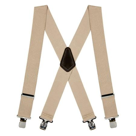 Suspender Store Classic 2-Inch Wide Clip (Lycra Suspender)