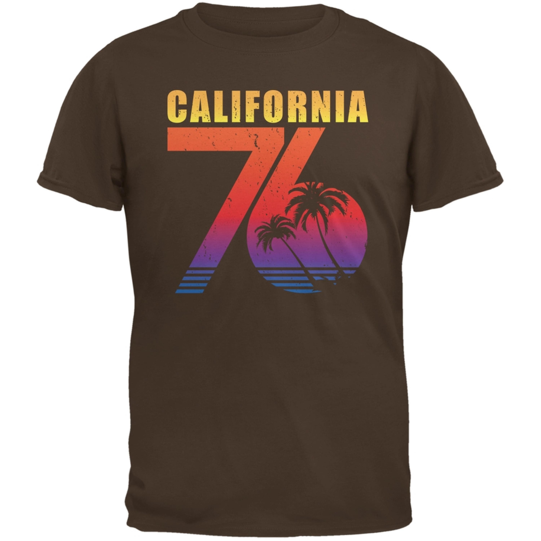California 76 Brown Adult T-Shirt
