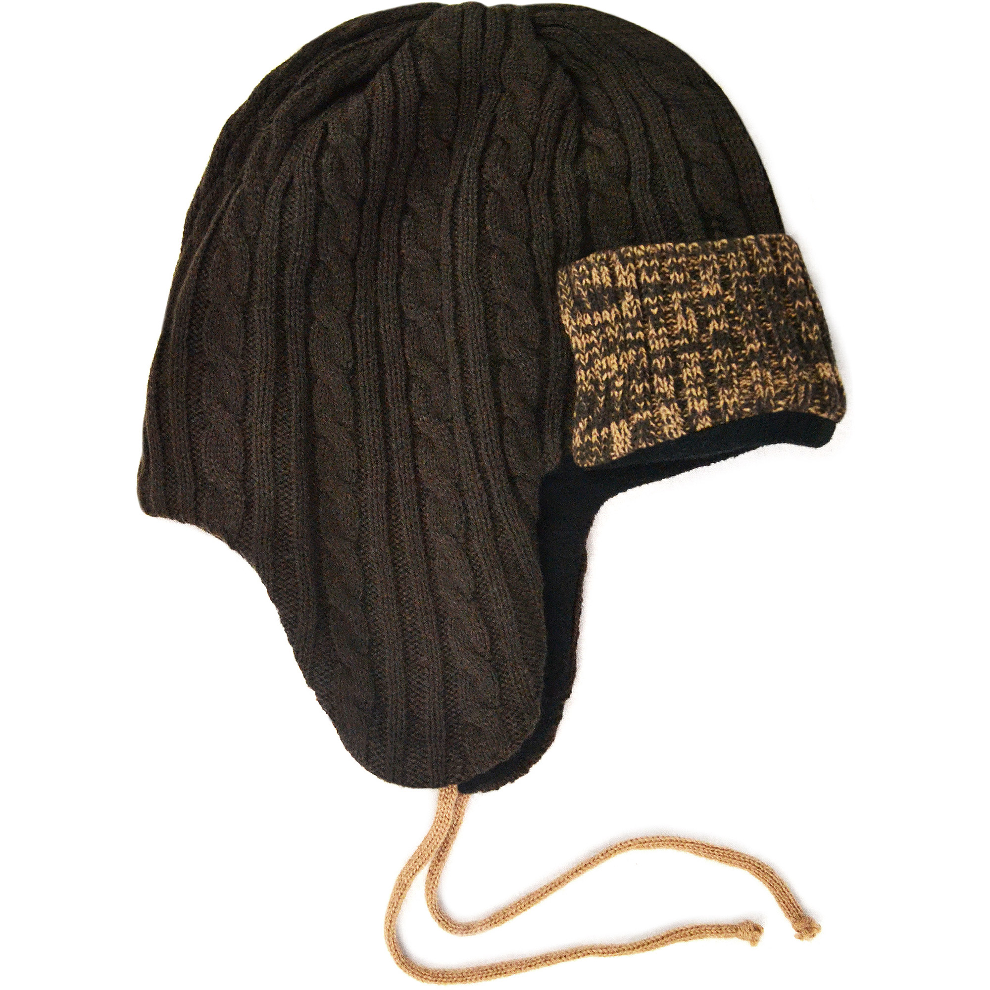 MUK LUKS Men's Color Block Cable Trapper