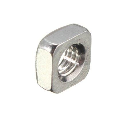 Metric Thread 304 Stainless Steel Square Nut Fastener Nut Screw Nut - image 2 of 5