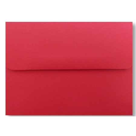 Holiday Red 25 Pack Envelopes A7 (5-1/4? X 7-1/4?) for 5? X 7