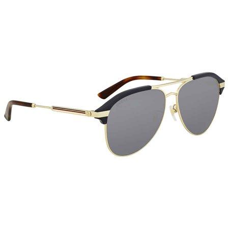 Gucci Grey Square Sunglasses GG0241S 002 54