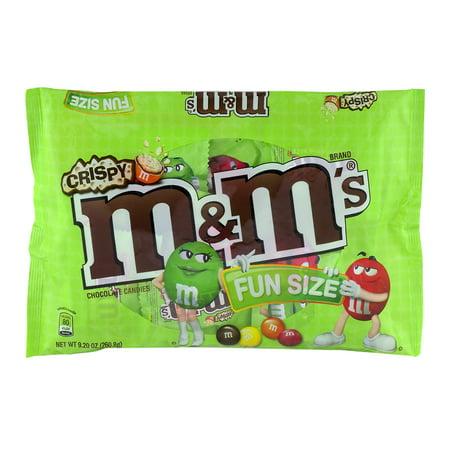 Fun size m&m oz