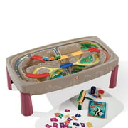 Step2 Deluxe Canyon Road Play Train Table