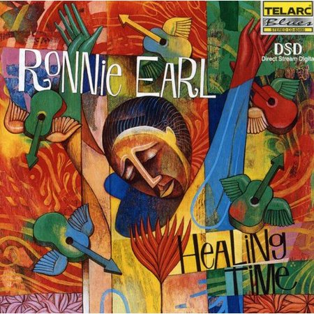 Personnel  Ronnie Earl  Guitar   Jimmy Mcgriff  Hammoond B 3 Organ   Anthony Geraci  Keyboards   Michael  Mudcat  Ward  Bass   Don Williams  Drums  Recorded At Blue Jay Studios  Carlisle  Massachusetts Between July 23   August 2  1999  Includes Liner Notes By Frank John Hadley Not Unlike Such Disparate Artists As John Coltrane  John Lennon  Or Al Green  Ronnie Earl Preaches Musics Underlying Power To Cure An Ailing Soul  And Mend A Broken Heart  On Healing Time Earl Sets Out To Encourage Us To  As He Says   Feel The Music  Not Just Be Awed By The Technique   And The 11 Songs Included Here Lead Listeners In This Direction  Churchin   Is An Electrifying Blues Shuffle  While The Tunes That Follow Take Us On A Musical Journey Through Slow 12 8 Blues   Blues For Shawn   To A Cheerful Quasi Latin Feel   Thembi    Earls Lyrical  Always Bluesy  Improvisations Are Strongly Featured Throughout  Organ Legend Jimmy Mcgriff Is Also Heard In Superb Form On Many Of The Selections Including  Blues On A Sunday  And  Catfish Blues   The Album Closes With A Stately Version Of The Traditional Song   Amazing Grace   On This African American Spiritual  Ronnie Earl Leaves Us With A Sense Of Hope And Optimism  Healing Time Is An Emotionally Charged Album That Delivers A Unique And Potent Balm For The Soul