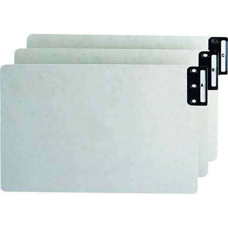 Smead, SMD63276, Recycled A-Z End-Tab Pressboard Guides, 25 / Set