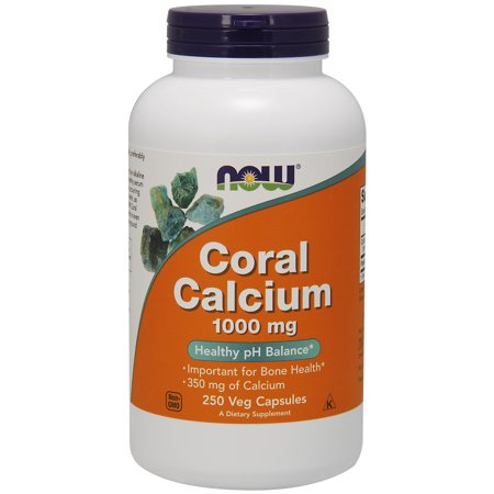 - NOW Supplements, Coral Calcium 1000 mg, 250 Veg Capsules