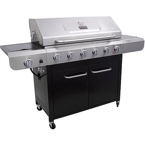 Char-Broil 6-Burner Gas Grill with Side Burner