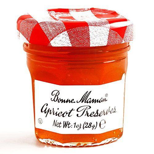 Bonne Maman Apricot Jam 1 oz each (3 Items Per Order) by