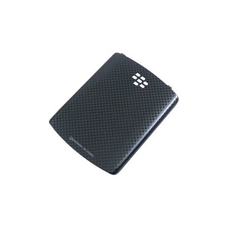 Blackberry Curve 8520 Cover - OEM BlackBerry Curve 3G, Curve 8530, 8520 Battery Door / Cover - Black Checker