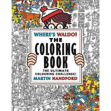 Wheres Waldo  The Coloring Book