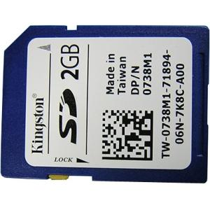 2GB SD CARD 342-1628