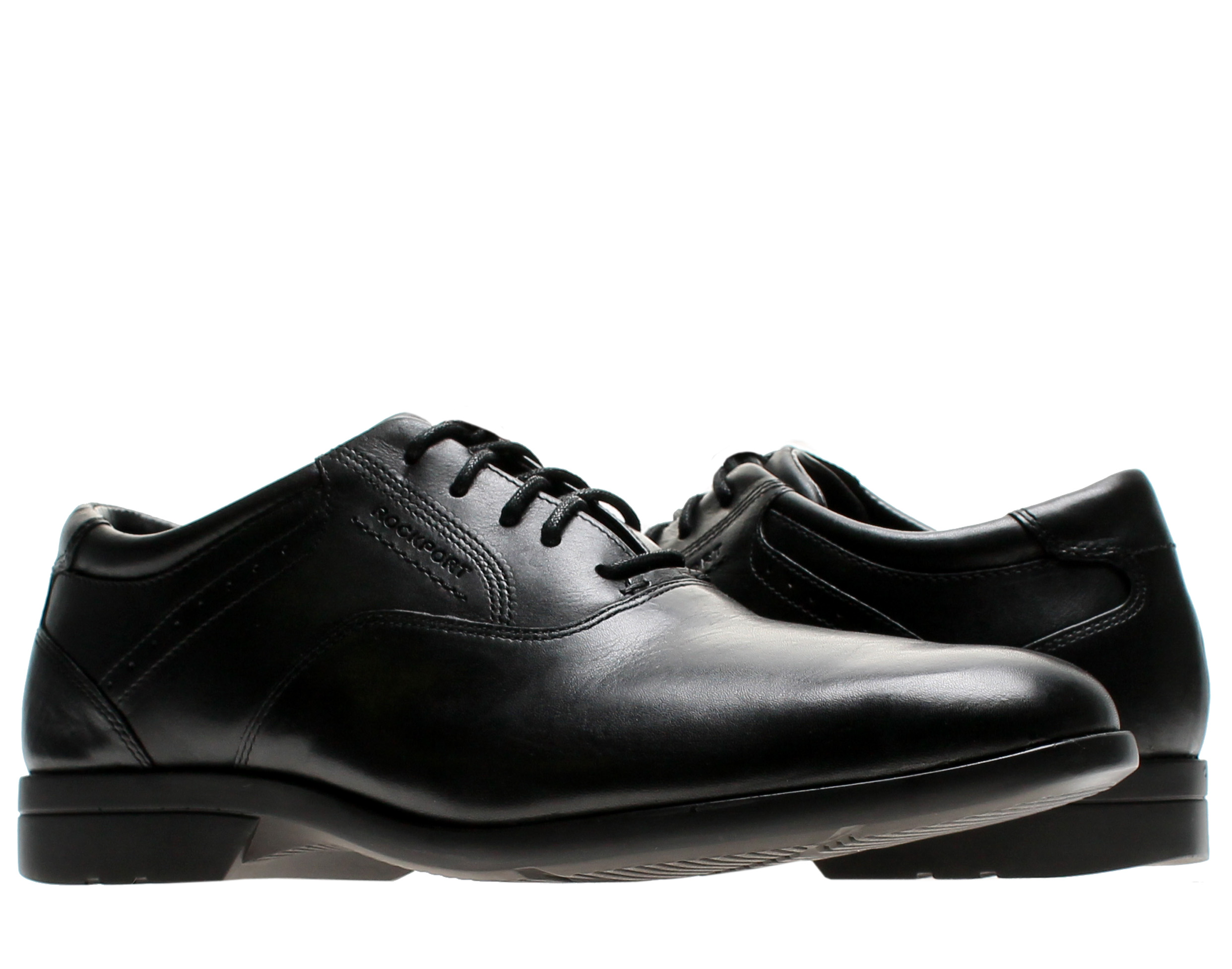 Rockport Business Lite Plain Toe Black Men's Dress Shoe K72385 by
