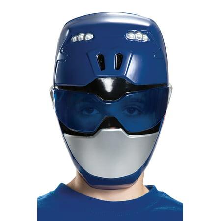 Child's Power Rangers Beast Morphers Blue Ranger Mask Costume Accessory