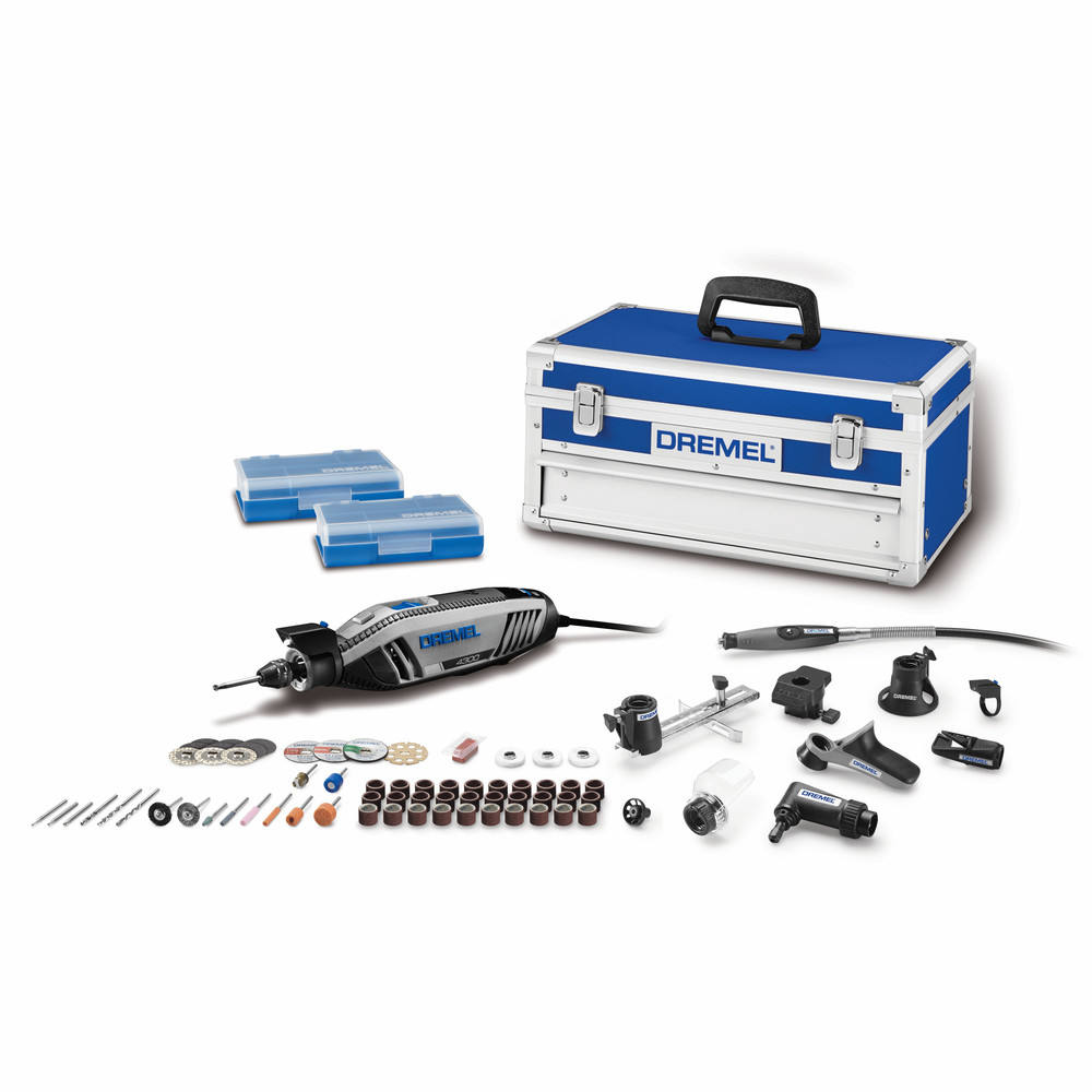Dremel 4300-9/64 Variable Speed Rotary Tool with 9 attach. and 64 access.
