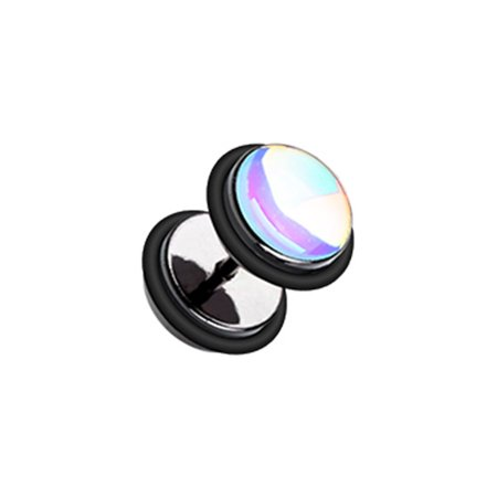 - Revo Iridescent Metallic Coat Acrylic Fake Plug with O-Rings