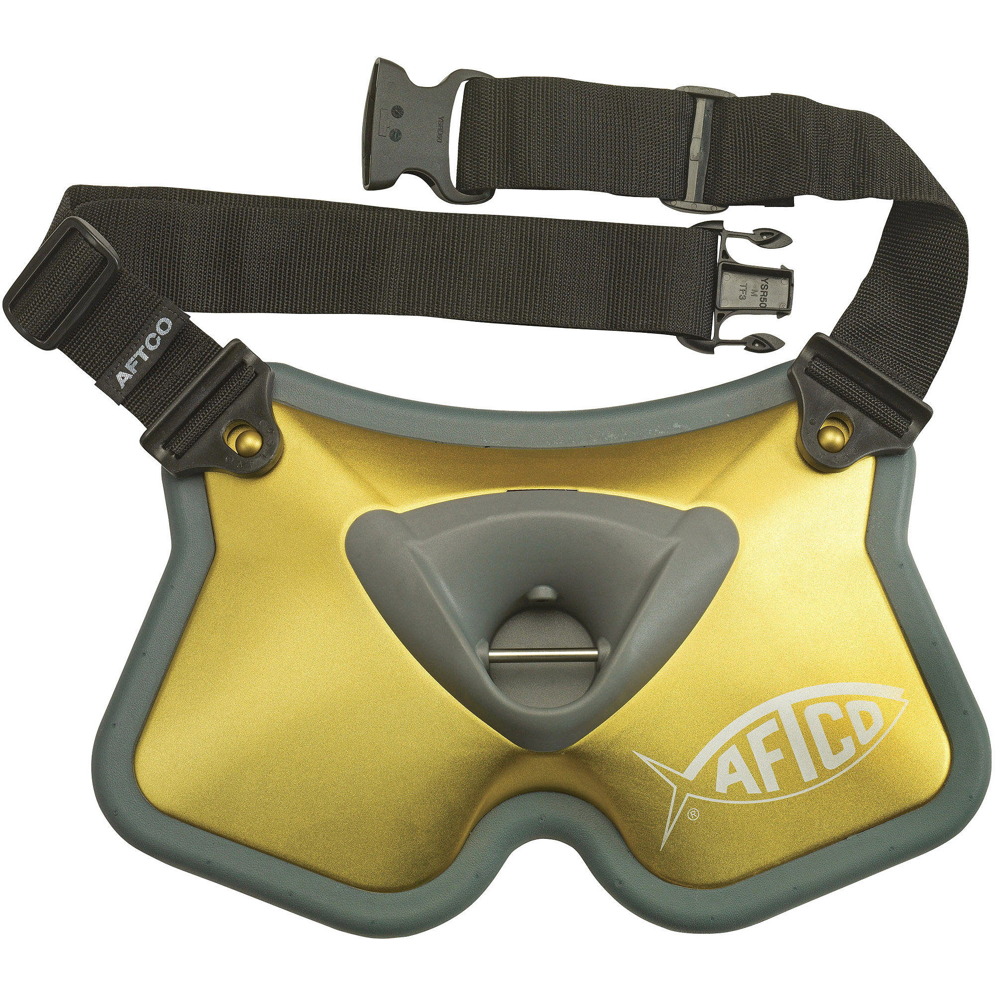 AFTCO Socorro Fighting Belt (50-80Lb), BELT2GLD by Aftco