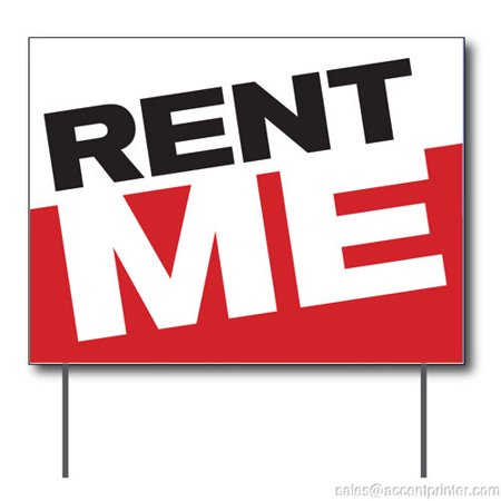 Double Sided Outdoor Led Sign - Rent Me Curbside Sign, 24