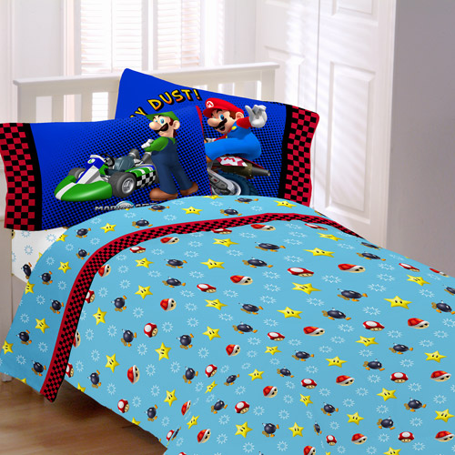 Super Mario Bros The Race Is On Sheet Set Walmart Com