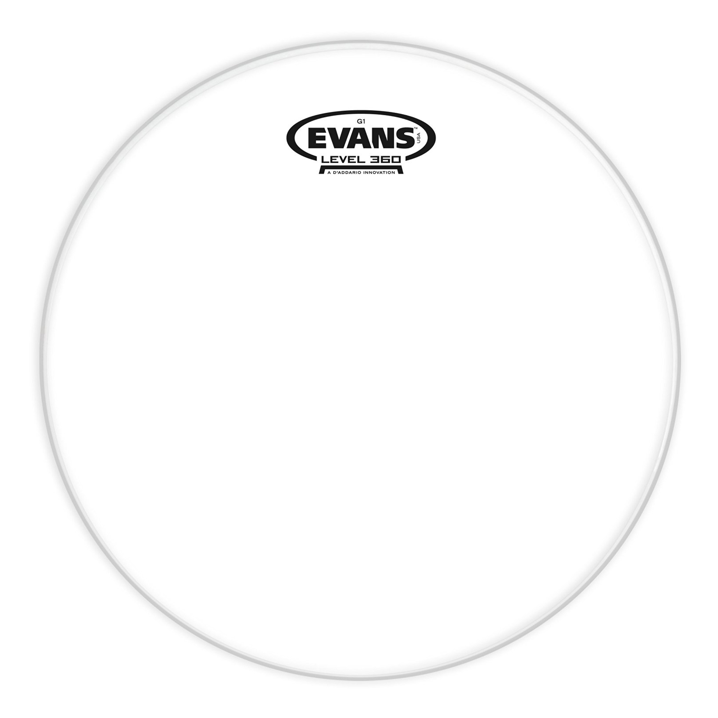 "Evans 12"" Genera 1 Clear Drum Head by Evans"