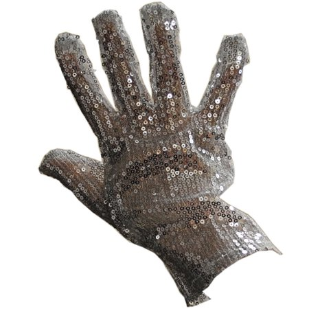 Lot of 12 Right Handed Silver Sequin Glove Michael Jackson MJ, For the Michael Jackson fan - Silver sequin glove By Rhode Island Novelty