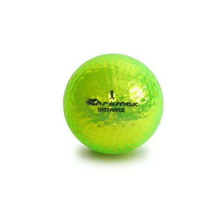Chromax Golf Balls, Green, 6 Pack