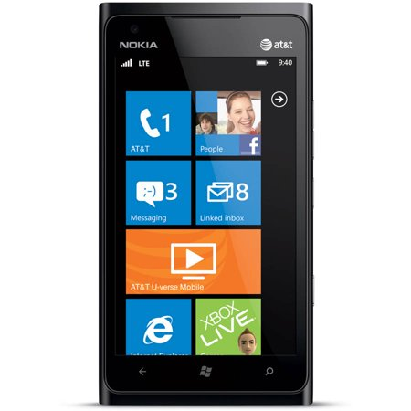 Certified Refurbished Nokia Lumia 900 Smartphone (Unlocked),