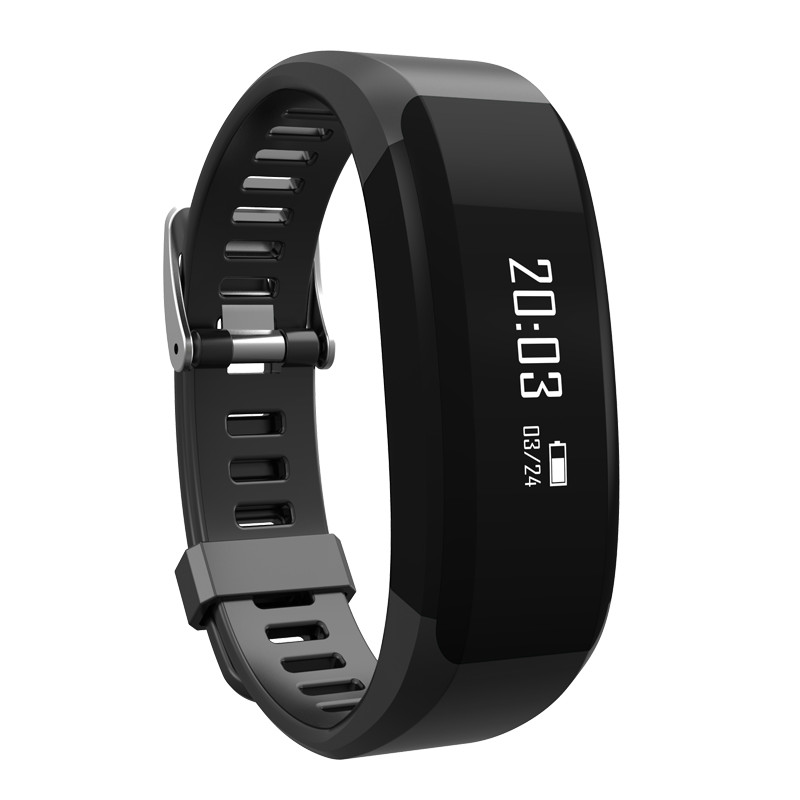 "Tirux 0.86"" OLED Bluetooth Smart Watch Bracelet Wristband Heart Rate Monitor Sport Fitness Activity Tracker"