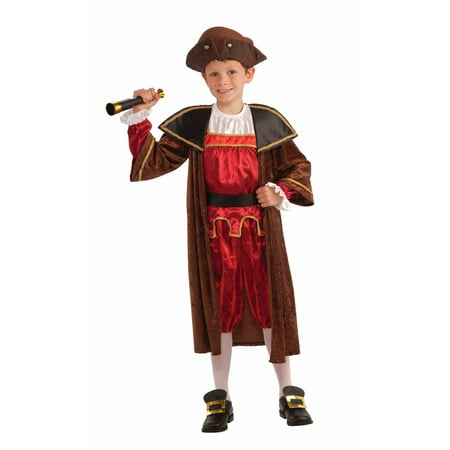 Boys Christopher Columbus Costume