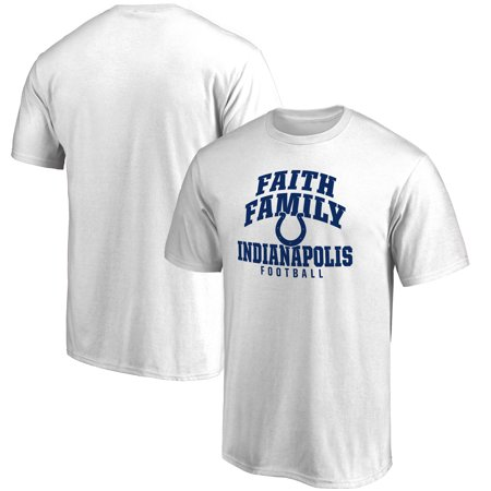 Indianapolis Colts NFL Pro Line Faith Family T-Shirt - White
