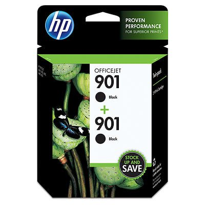 HP 901 2-pack Black Original Ink (Rb2132 901 52)