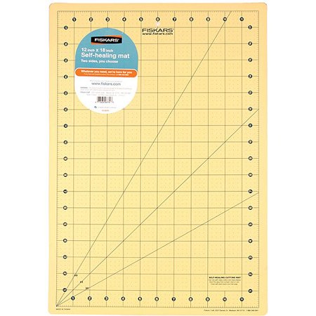 Fiskars 12 Quot X 18 Quot Self Healing Cutting Mat 1 Each
