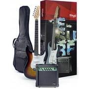 Stagg ESURF 250 SB US Surfstar Electric Guitar and Amplifier Package - Sunburst