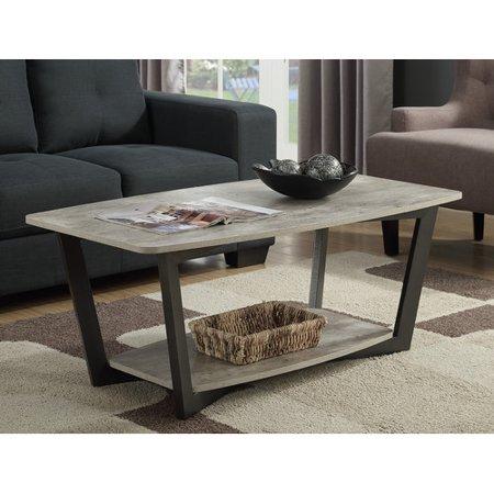 Convenience Concepts Graystone Coffee Table Walmartcom