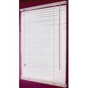 Simple Spaces Blinds, Faux Wood, 31-1/2 In. Blind Wdth