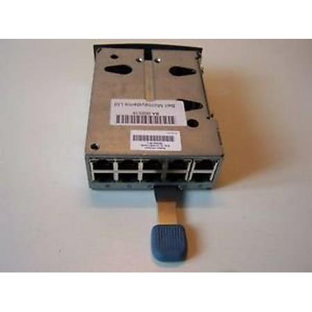 001 Compaq Rack (COMPAQ 253240-001 RJ-45 PATCH-PANEL PASS-THROUGH MODULE HP Compaq 253240 001 Patch Panel RJ 45 Module 10 Port  