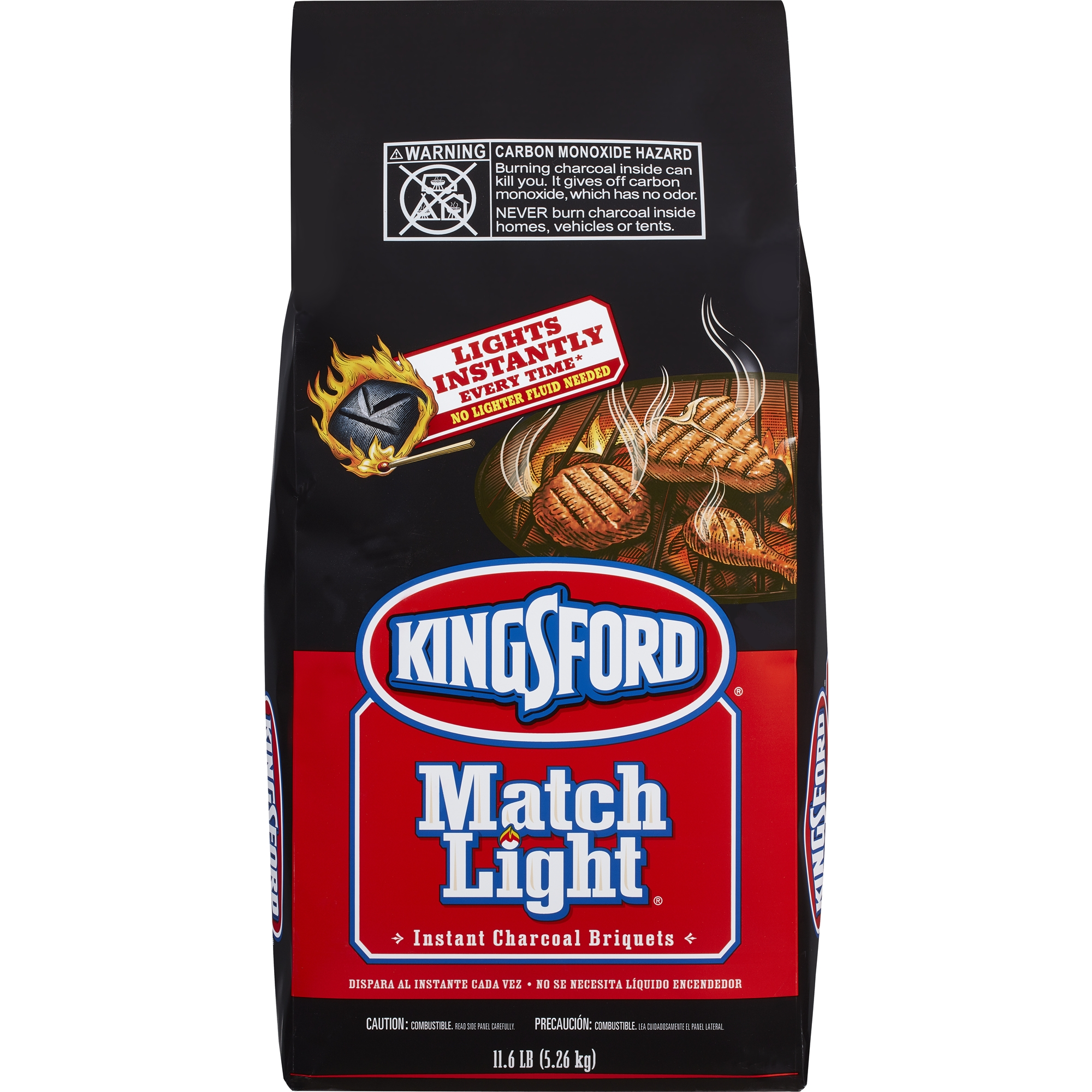 <mark>Kingsford</mark> Match Light <mark>Charcoal</mark> Briquettes, 11.6 lbs
