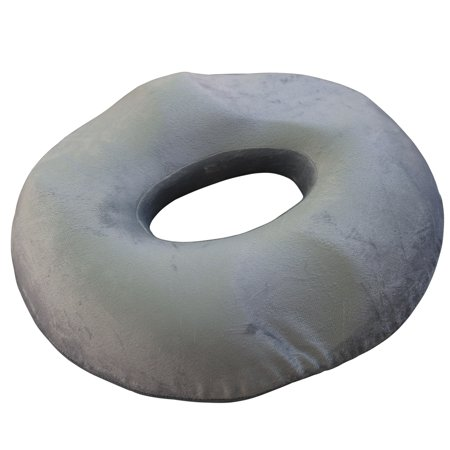 - Donut Pillow Seat for Men and Women - Medium-Firm Foam Medical Anatomically-Shaped Relief Cushion from Lemon Hero. For Hemorrhoids, Post Natal pain, Surgery