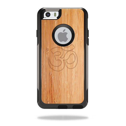 MightySkins Protective Vinyl Skin Decal for OtterBox Commuter iPhone 6 Plus/6s Plus Case wrap cover sticker skins Bamboo Ohm