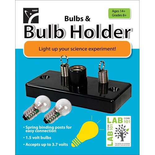 Bulbs & Bulb Holder by American Educational Products