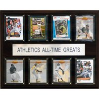 C&I Collectables MLB 12x15 Oakland Athletics All-Time Greats Plaque