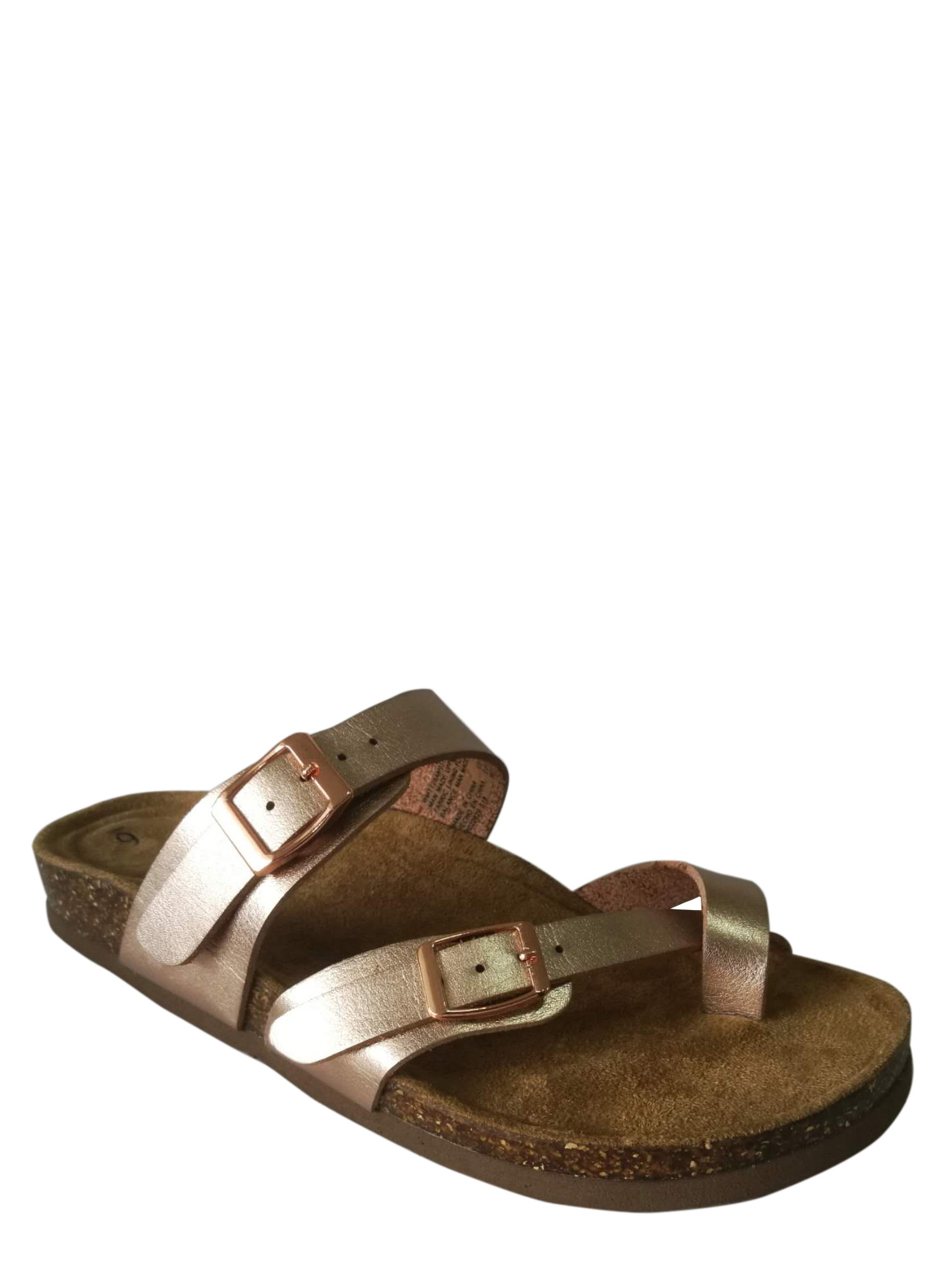 Time and Tru Women's Cork Slide