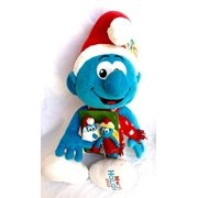 Macys The Smurfs 21 Plush Christmas Smurf With Finger Puppets