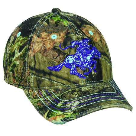 Ladies Winchester Mossy Oak Country Camo Hunting Hat ()