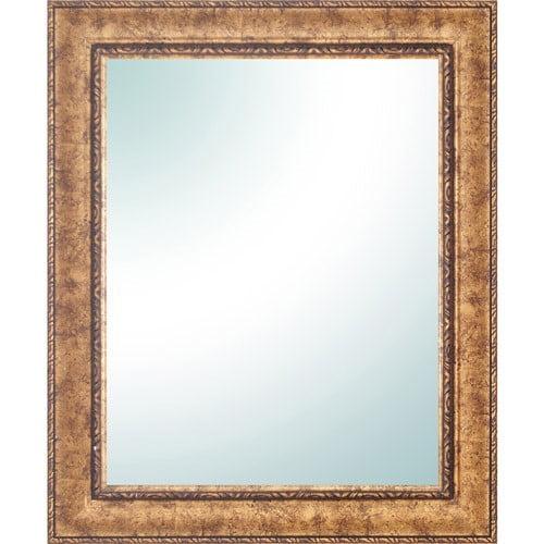 "28"" x 34"" Gold Ornate Vanity Mirror"