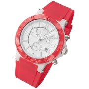 Pop Series Chronograph Watch Pink Colorful Silicone Band
