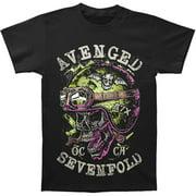 Avenged Sevenfold Men's  Helmet T-shirt Red
