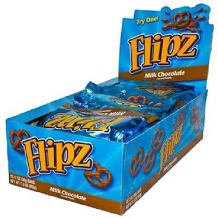 Product Of Flipz, Milk Chocolate Covered Pretzels, Count 12 (2 oz) - Snacks / Grab Varieties & Flavors](Halloween Chocolate Pretzels)